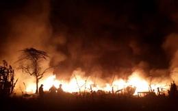 Lại cháy ngùn ngụt ở Hà Nội