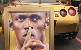 Usain Bolt khoe siêu xe mạ vàng trong ngày lên làm giám đốc