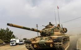 Xe tăng Thổ vượt biên giới, Nga - Syria phản ứng