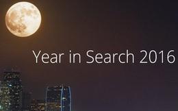 Google tổng kết những từ khóa được tìm kiếm nhiều nhất trong năm 2016 trên toàn cầu