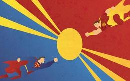 15 cặp siêu anh hùng sinh ra để đối chọi lẫn nhau