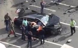 Siêu xe của ông Putin gặp tai nạn kinh hoàng, tài xế tử vong