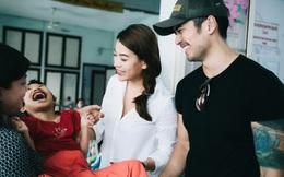 Trương Ngọc Ánh được trai đẹp Việt kiều hộ tống đi từ thiện