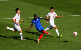 U20 Việt Nam nhận tổn thất nặng nề trong trận gặp Pháp
