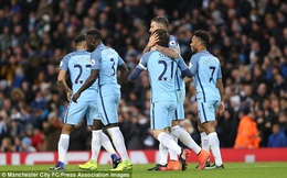 Clip bản quyền Premier League: Man City 2-1 Burnley