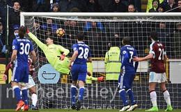 Vòng 25 Premier League: Burnley 1-1 Chelsea