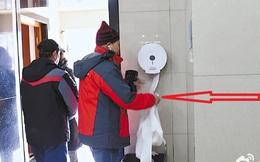 """Trung Quốc: Ngay giữa thủ đô Bắc Kinh, đến giấy vệ sinh cũng bị """"biển thủ"""""""