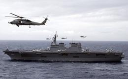 """""""Khu trục hạm mang trực thăng"""" độc nhất vô nhị của Hải quân Nhật Bản"""