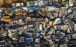 Hỏa hoạn trong đêm, hơn 6.000 xe ô tô bị đốt trơ khung