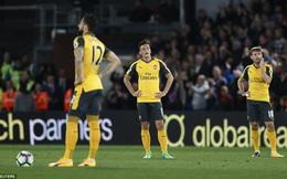 Arsenal thất bại ê chề, sắp tan giấc mộng top 4
