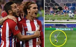 Leicester thua tức tưởi Atletico Madrid vì quả 11m tranh cãi