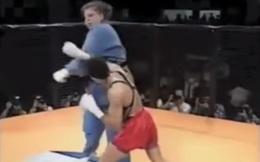 """MMA thua ê chề Judo trong 1 phút: Tý hon không thể chống lại """"khổng lồ"""""""