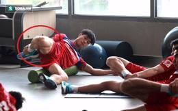 Công Phượng khoe bắp đùi cuồn cuộn khi cùng U22 Việt Nam tập gym