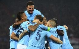 """Man City """"dạo chơi"""" ở Champions League cũng tạo cơn mưa bàn thắng"""