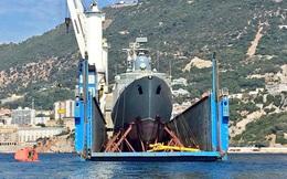 Tàu Gepard thứ 3 của HQVN vượt mũi Hảo Vọng, chiếc còn lại sẵn sàng lên đường
