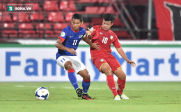 """Xuất hiện """"túi điểm"""" mới, tan tác nhất vòng loại U16 châu Á"""