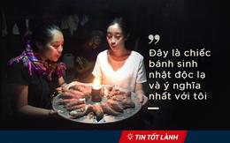 TIN TỐT LÀNH 16/10: Giám đốc quăng trăm triệu xuống dòng nước, hoa hậu sinh nhật với bánh toàn khoai