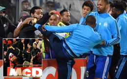 "Cựu sao Man United tái hiện cú kungfu ""kinh điển"" của Eric Cantona"