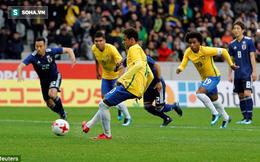 Neymar phung phí phạt đền, Những vũ công Samba vẫn dễ dàng hạ gục Brazil châu Á