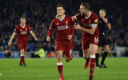 Vòng 15 Premier League: Brighton 1-5 Liverpool