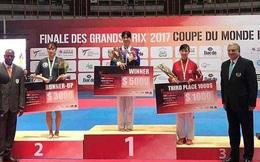 Võ sỹ Trương Thị Kim Tuyền giành HCĐ Taekwondo thế giới