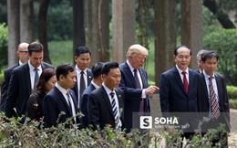 """Vừa tới Philippines, tổng thống Trump cập nhật Twitter nói về """"ngày tuyệt vời"""" ở Việt Nam"""