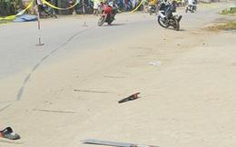 Người đàn ông nằm gục ngay gần nhà, bên cạnh có 2 vỏ đạn sau tiếng nổ lớn