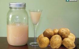 Nước ép khoai tây: Nghe thì lạ, nhưng lợi ích không ngờ