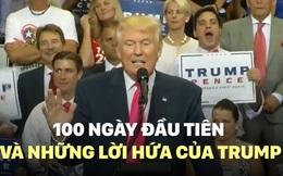 [VIDEO] Thành tích vượt Obama, Bush, Clinton, nhưng 100 ngày của Trump không như hứa hẹn
