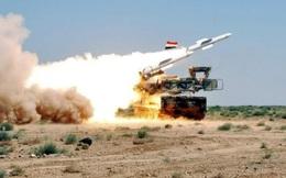 Phòng không Syria vỡ vụn trước đòn tập kích chớp nhoáng của Israel