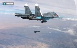 """[VIDEO] Nga không kích """"nướng"""" đoàn xe IS tháo chạy khỏi Raqqa, diệt 120 chiến binh"""