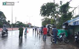 Truy tìm ô tô tông tử vong người phụ nữ đang dọn hàng lúc trời mưa