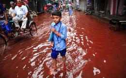 24h qua ảnh: Đường phố Bangladesh nhuộm đỏ màu máu sau mưa lớn