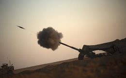 24h qua ảnh: Quân đội Mỹ nã pháo vào sào huyệt IS tại Syria