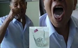 24h qua ảnh: Dị nhân 71 tuổi nghiện ăn thủy tinh ở Trung Quốc