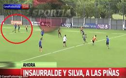 Đồng đội cũ của Tevez đánh nhau trên sân tập