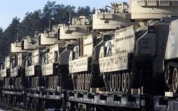 24h qua ảnh: Xe tăng Mỹ rầm rộ tới biên giới Latvia giáp Nga