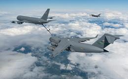 """Máy bay tiếp dầu vừa gia nhập Không quân Mỹ khiến Il-78M của Nga phải """"ngước nhìn"""""""