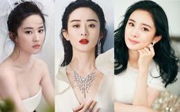 """Vượt mặt Lưu Diệc Phi, Triệu Lệ Dĩnh đứng đầu danh sách """"10 nữ thần châu Á"""""""