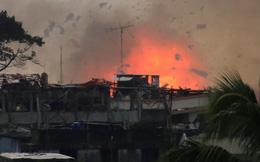 24h qua ảnh: Máy bay Philippines thả bom diệt phiến quân