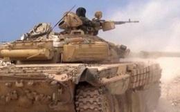"""Chiến sự Syria: Tên lửa IS lại """"bó tay"""" trước xe tăng T-72"""