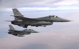 Tiêm kích F-16 Jordan bắn hạ không thương tiếc 1 UAV gần biên giới Syria: Truy tìm xuất xứ