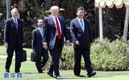 """Điện đàm Trump-Tập: TQ thể hiện trách nhiệm nước lớn hay """"ván bài"""" 1 mũi tên trúng 2 đích?"""