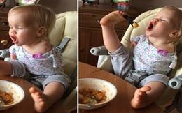 Nếu luôn thấy mình thiếu may mắn, hãy nhìn cô bé 2 tuổi và miếng khoai tây này