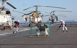 Cận cảnh hoạt động hàng ngày của binh sĩ Nga thuộc Hạm đội phương Bắc