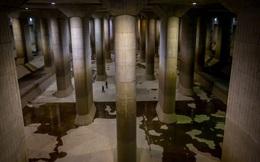 """""""Giải mật"""" cống ngầm lớn nhất thế giới ở Nhật, siêu bão mưa 3 ngày liền cũng không ngập"""