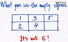 Một câu đố đơn giản nhưng lại không thể giải quyết được bằng toán học!