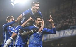 Costa lập công, Chelsea ngạo nghễ cười trước sự bất lực của phần còn lại