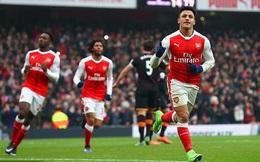 Clip bản quyền Premier League: Arsenal 2-0 Hull City