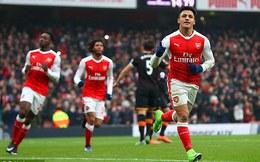 Premier League vòng 25: Arsenal 2-0 Hull City